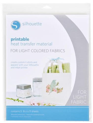 Silhouette Printable Heat Transfer Material