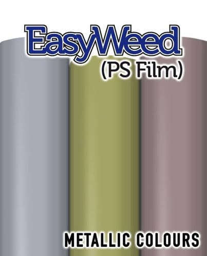 Siser EasyWeed (PS Film) - A4 & By The Metre - 3 Metallic Colours