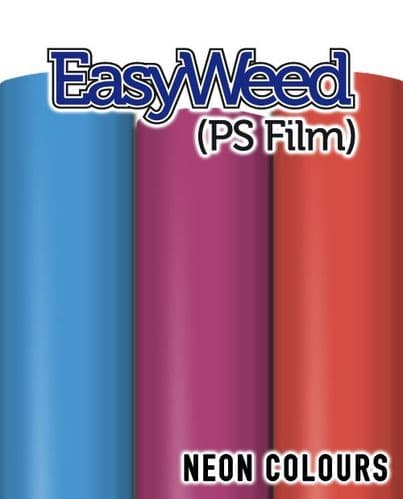 Siser EasyWeed (PS Film) - A4 & By The Metre - 4 Neon Colours