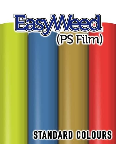 Siser EasyWeed (PS Film) - A4 & By The Metre - Standard Colours