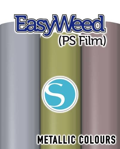 Siser EasyWeed (PS Film) - Silhouette Cameo® size  - 3 Metallic Colours