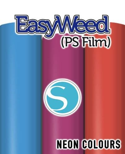 Siser EasyWeed (PS Film) - Silhouette Cameo® size - 4 Neon Colours