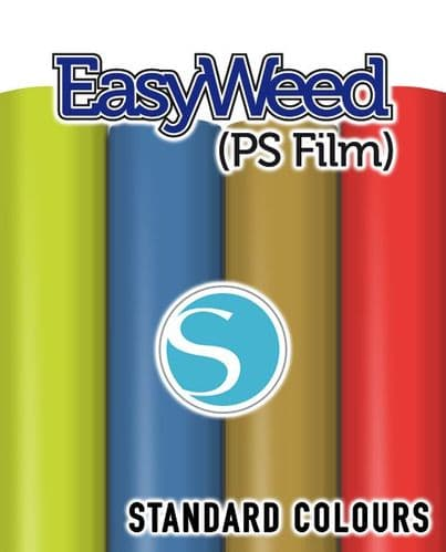 Siser EasyWeed (PS Film) - Silhouette Cameo® size  - Standard Colours